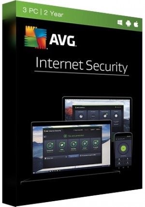 AVG Internet Security Multi Device - 3 Devices/2 Years