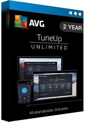 AVG Tuneup Unlimited - 2 Years