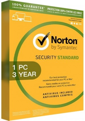 Norton Security Standard 3 - 1 Device/3 Years