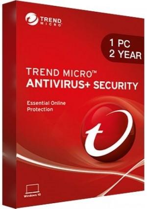 Trend Micro Antivirus + Security / 1 PC (2 Years)