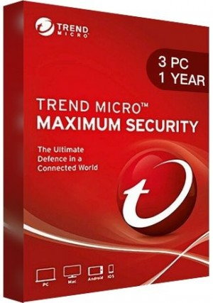 Trend Micro Maximum Security Multi Device / 3 Devices (1 Year)