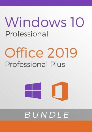 Windows 10 Pro + Office 2019 Pro - Package